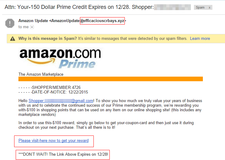 Phishing-example-Amazon-